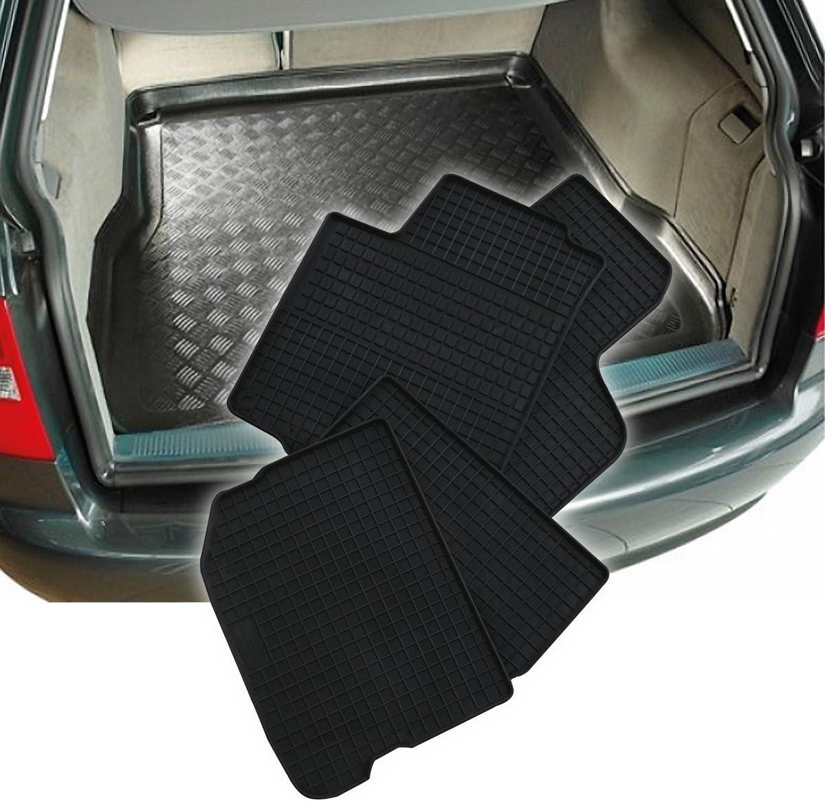 Alfombrilla de Tina tapiz de maletero adecuado para Opel Meriva B superior suelo de carga