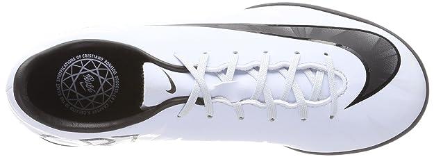 Botas Fútbol Nike Mercurial Victory 6 Cr7 Blanco Suela Turf Niño: Amazon.es: Zapatos y complementos