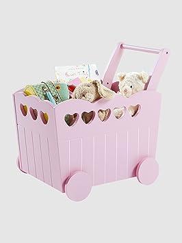 plus de photos f7b74 8810c Vertbaudet - Coffre de rangement bébé à roulettes: Amazon.fr ...