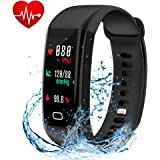 Fitness Tracker, Smart Watch with Color Screen, Activity Tracker With Heart Rate Monitor,