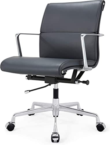 MEELANO -N Office Chair, One Size, Navy Blue
