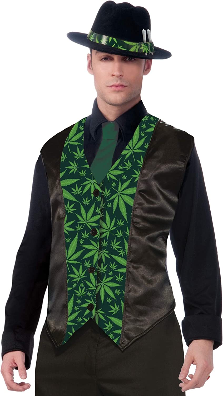 Forum Novelties Men's Cannabis Costume Vest