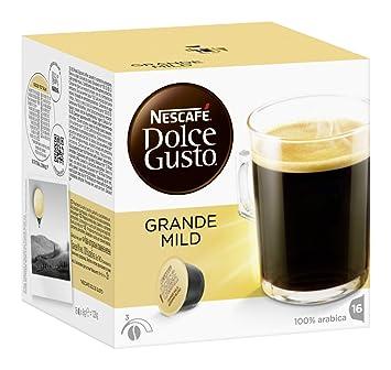 Nescafé Dolce Gusto Grande Suave, Paquete de 3, 3 x 16 Cápsulas: Amazon.es: Hogar