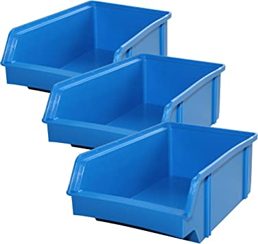 Lantelme 5606 Cajas 10 Unidades – Caja de almacenamiento, plástico ...