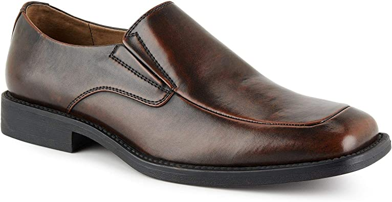 Ms lily Mens Dress Casual Cushioned Comfort Slip-On Loafer