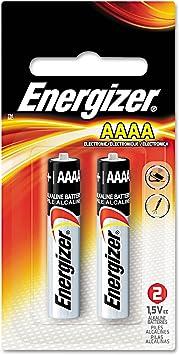 Energizer E96BP-2 AAAA Alkaline Battery Pack of 12