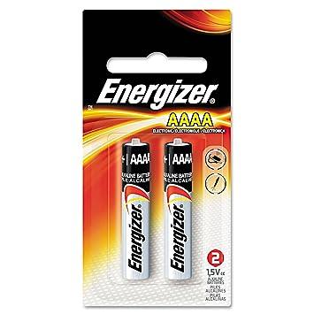 Energizer MAX Alkaline Batteries, AAAA, 2 Batteries/Pack, PK - EVEE96BP2