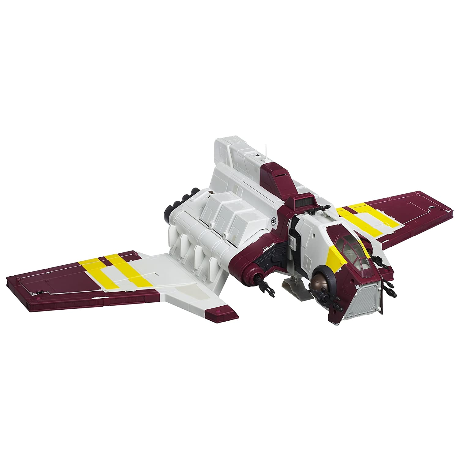 Amazon Star Wars Deluxe Republic Attack Shuttle Toys & Games