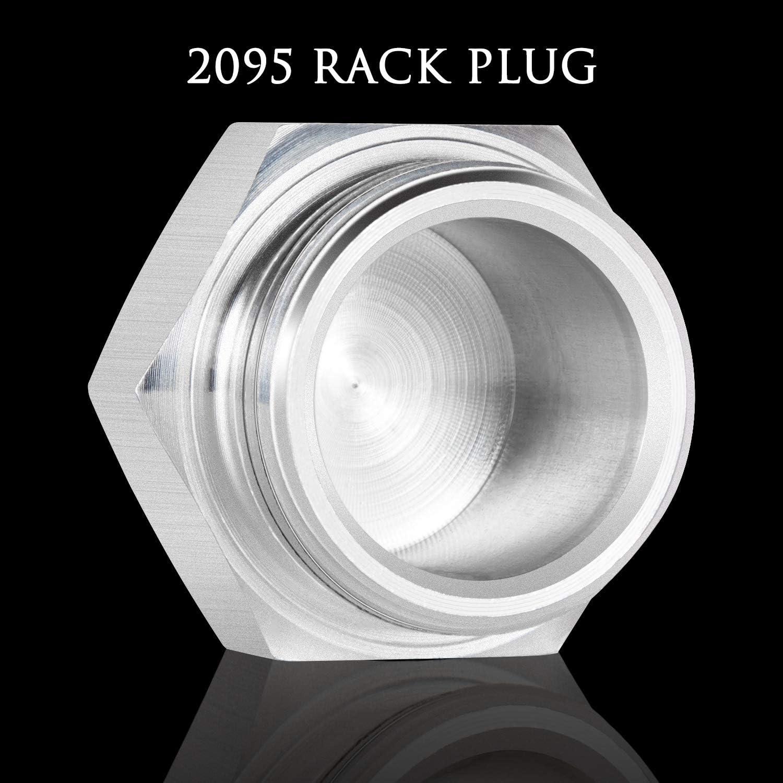 Camoo 2095 P7100 Rack Cap Rack Plug Aluminum For 1994-1998 Dodge Cummins Diesel /& P7100 injection pumps