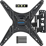 MOUNTUPTV Wall Mount, TV Mounts Swivel and Tilt Full Motion for Most26-55 Inch Flat Screen Curved TVs with Articulating Arm