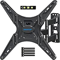 MOUNTUP TV Wall Mount, TV Mounts Swivel and Tilt Full Motion for Most 26-55 Inch Flat Screen Curved TVs with…