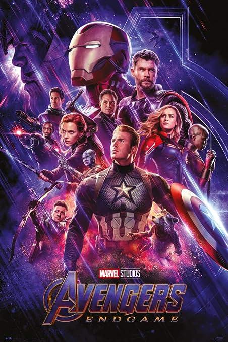 1art1 Los Vengadores - Endgame Cartel De Cine Póster (91 x ...