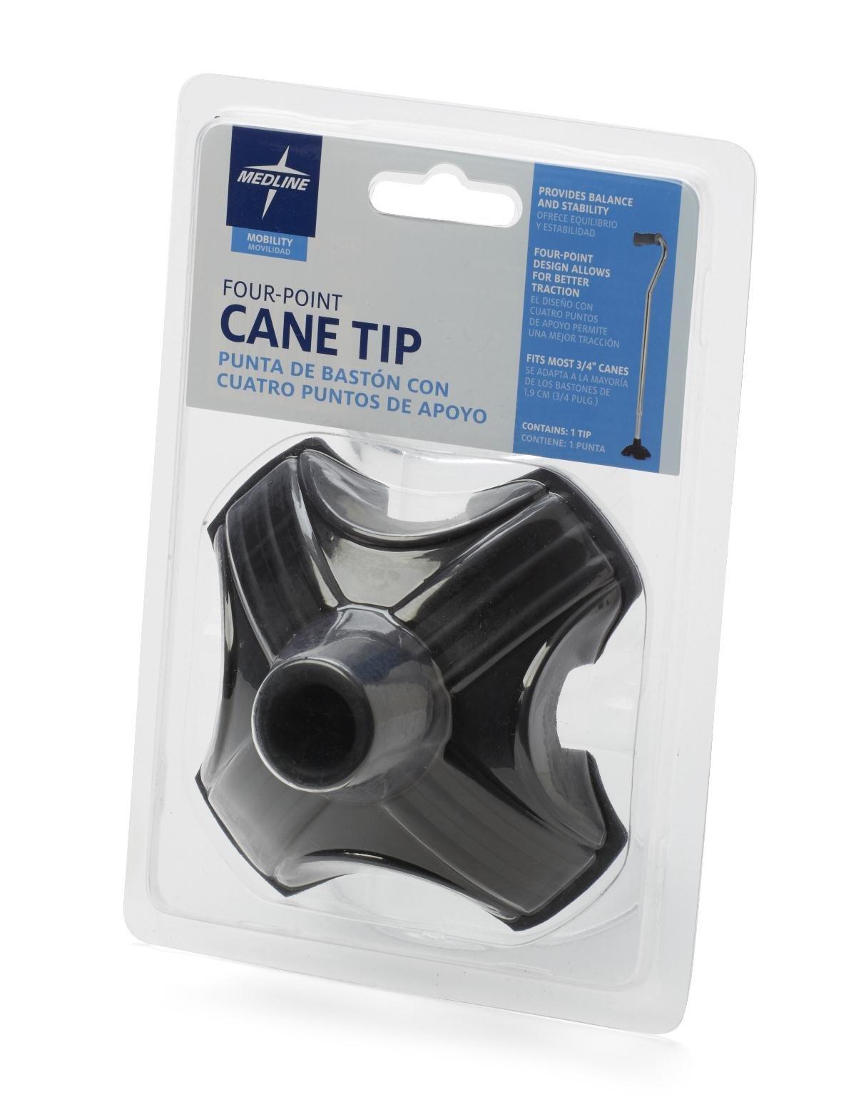 Medline Four Point Stabilizing Cane Tip