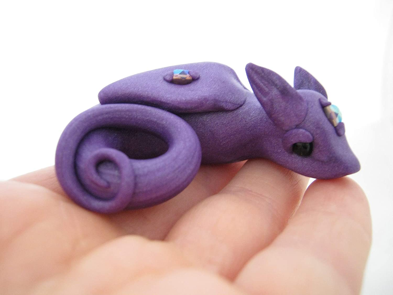 Purple Czechoslavakian Miniature