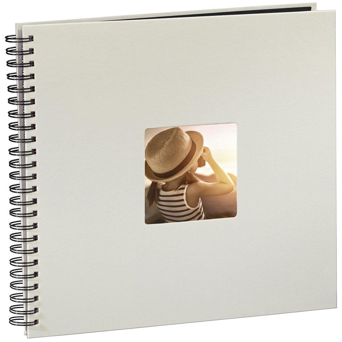 """Album à spirales """"Fine Art"""", 36 x 32 cm, 50 pages noires, craie Hama 00002109"""