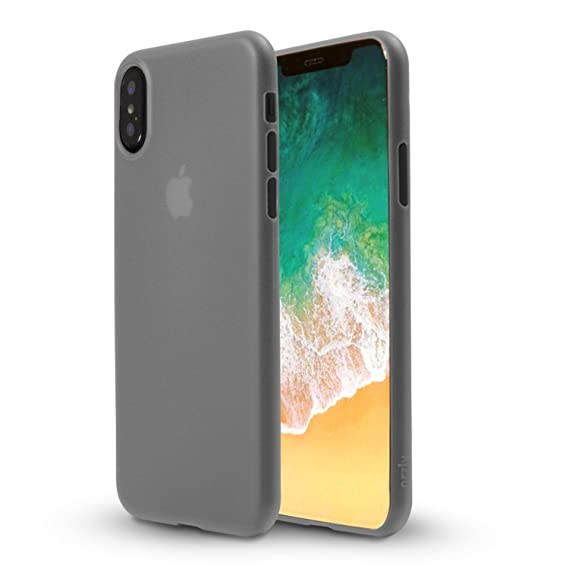new product c72c2 83f3c Orzly Slim, iPhone X/iPhone 10 Case Cover Skin- Ultra Slim [0.28mm] Surface  Protective Skin [Wireless Charging Friendly iPhone X Case] Compatible for  ...