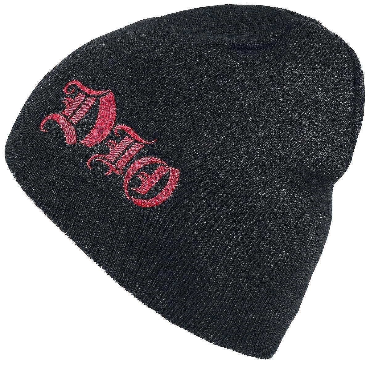 Dio Beanie Hat Cap Band Logo Ronnie James Official New Black