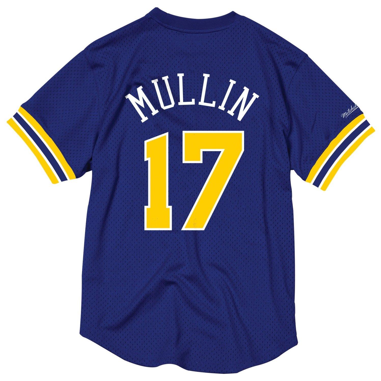 half off a3a6f 29b86 Amazon.com : Mitchell & Ness Chris Mullin Golden State ...