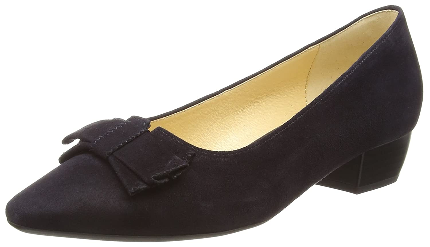 Gabor Blondel Damen Pumps37.5 EU|Blau (Dunkelblaues Wildleder)