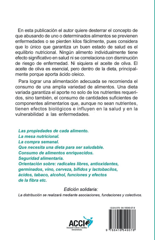Alimentos, propiedades y consideraciones (Colección. Saber sobre) (Spanish Edition): Eurípides: 9788416549078: Amazon.com: Books