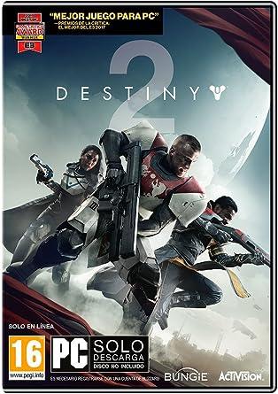 Destiny 2 - Edición Estándar (Código Digital): Amazon.es: Videojuegos