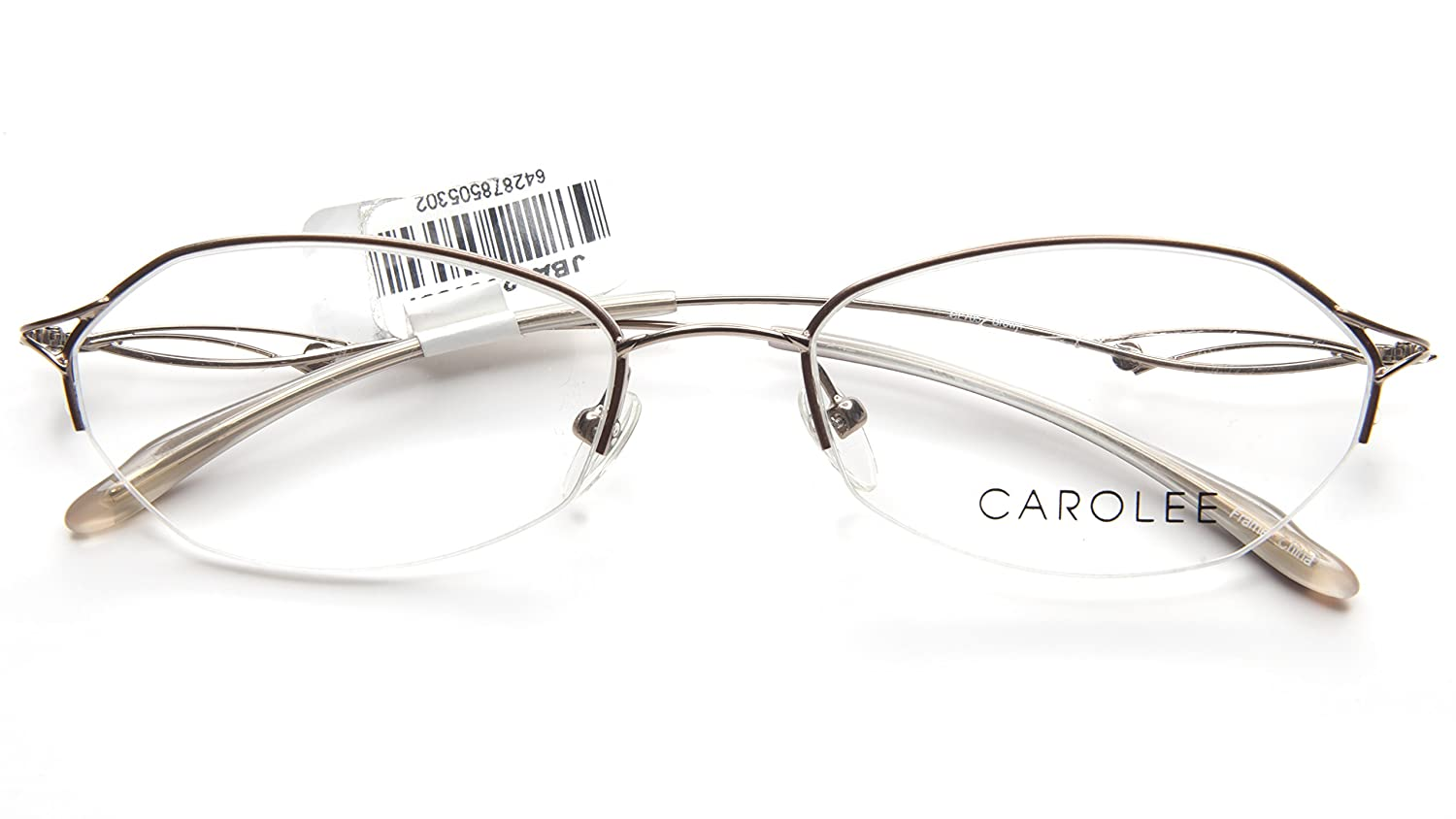 fd2db30e1e NEW Carolee CL705 BROWN EYEGLASSES WOMEN GLASSES FRAME CL 705 52-18-135  B30mm  Amazon.ca  Clothing   Accessories
