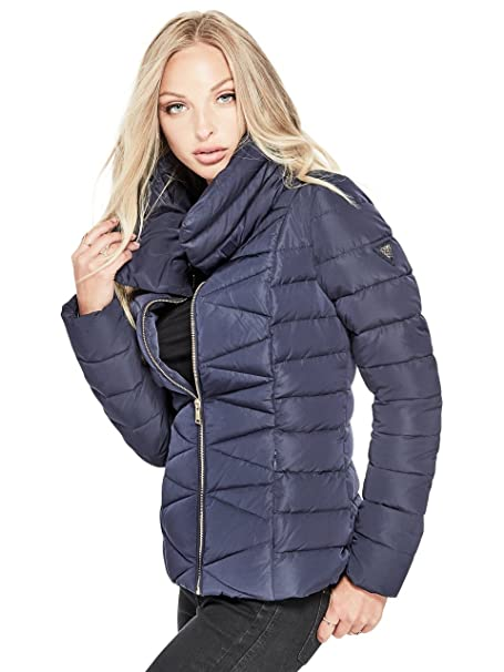 the best attitude 2431d 1c7fc Guess PIUMINO CORTO DONNA ALYSSA DOWN JACKET W74L71 W94G0 s ...
