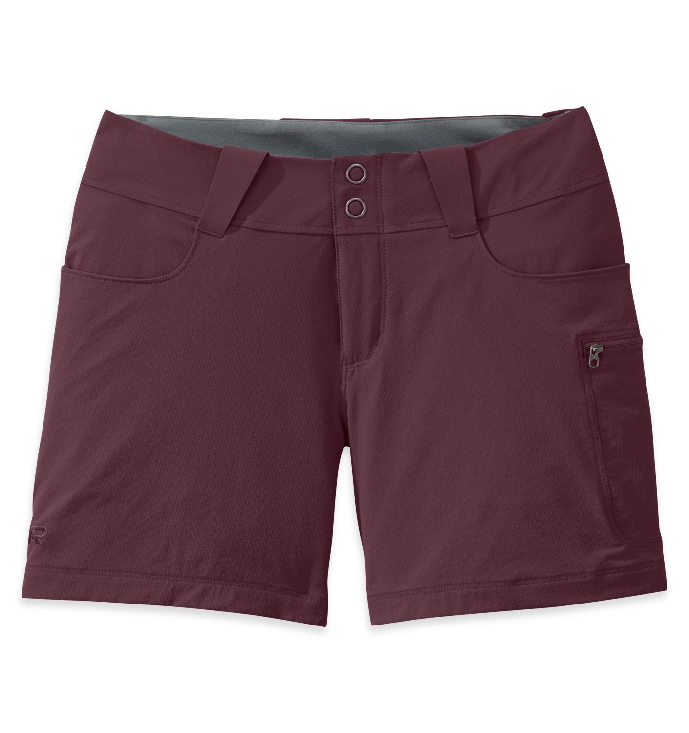 Outdoor Research Women's Ferrosi Summit 5'' Shorts, Pinot, 6 by Outdoor Research