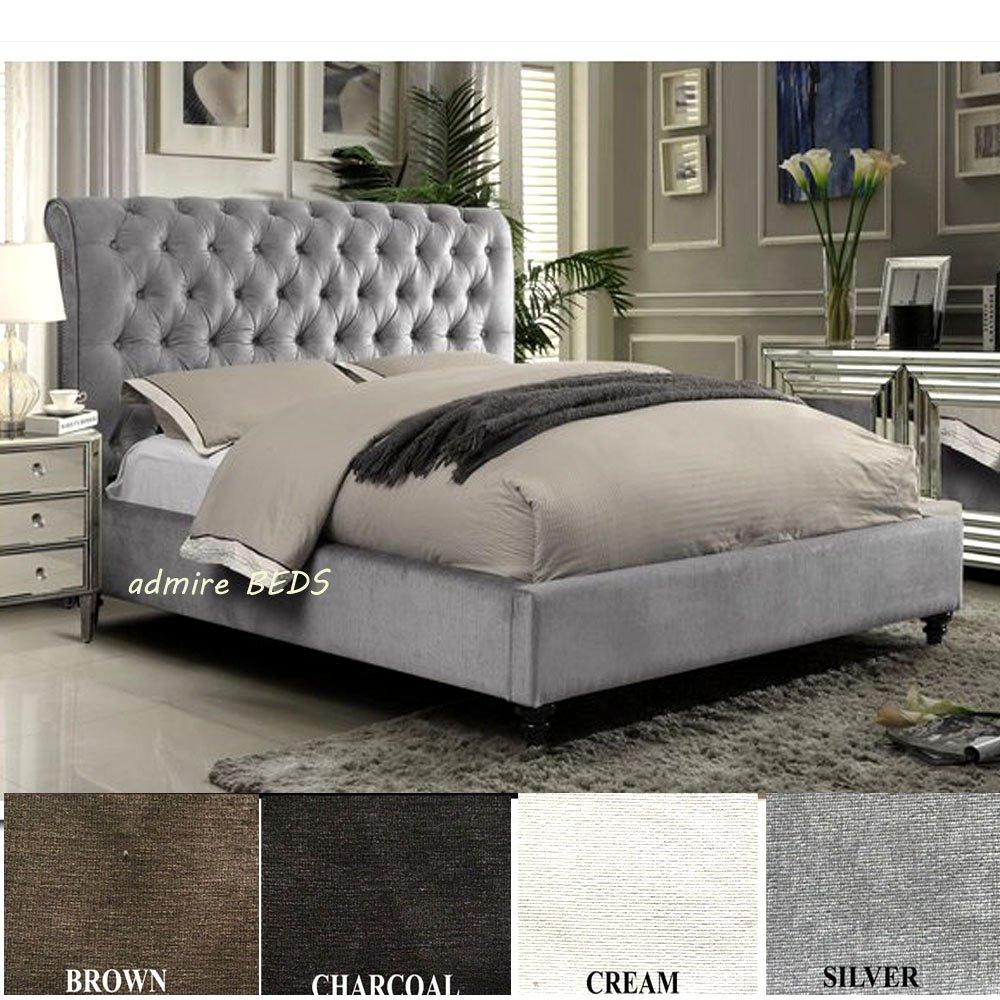 Rom New Luxus Qualität gepolsterten Chesterfield Design Schlitten ...