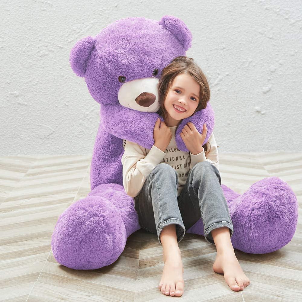 Giant Teddy Bear Large Stuffed Animal Toys Big Teddy Bear 55 inch Pink