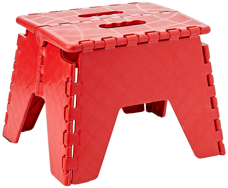 Invero®, sgabello pieghevole resistente multi-uso. Ideale per la casa, la cucina, il bagno, il garage, il fai da te e molto altro Invero®