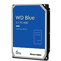 WD Blue 6TB PC Desktop Hard Drive, WD60EZAZ