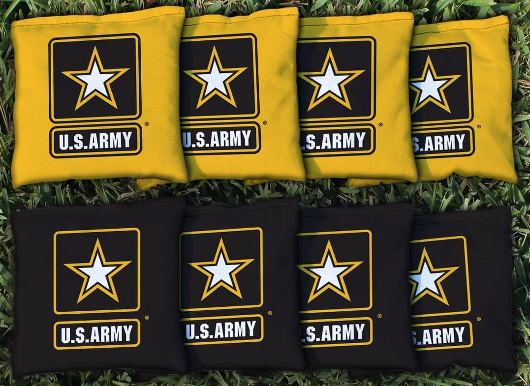 Victory Tailgate 8 Us Army Star Regulation Corn Filled Cornhole Bags by Victory Tailgate