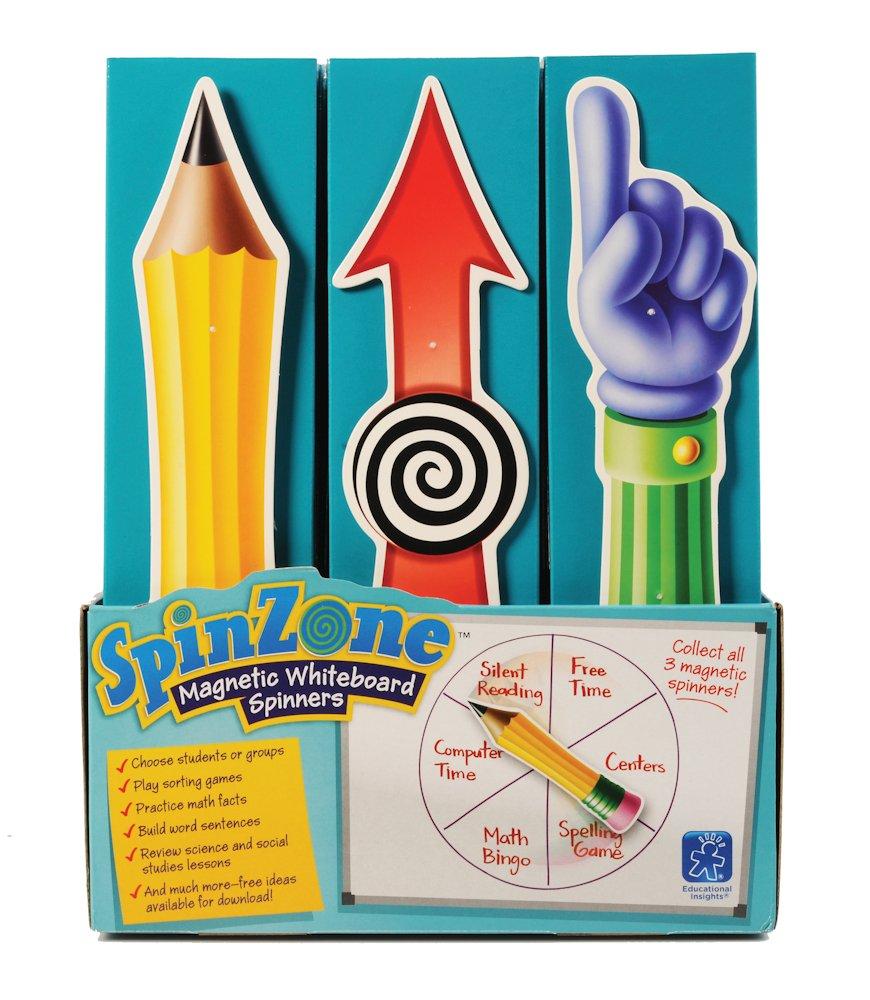 Educational Insights Spinzone Pop, Set of 24