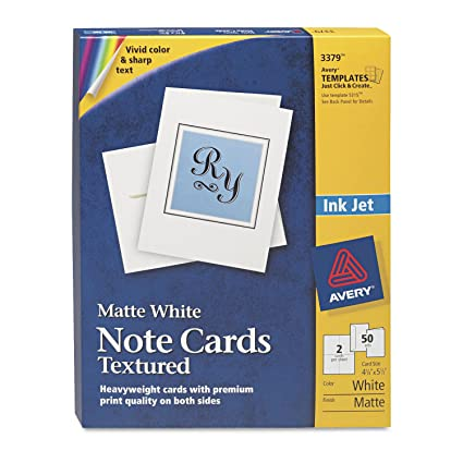 amazon com ave3379 avery note card office products