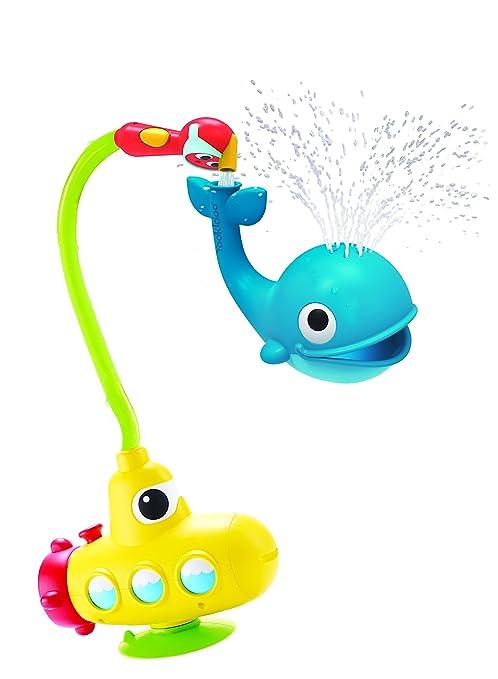 Amazon.com: Baby Bath Toy - Submarine Spray Whale- Battery ...