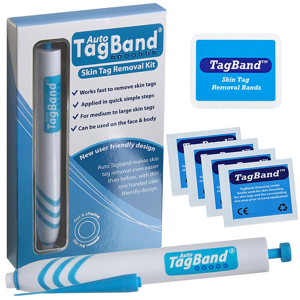 Auto TagBand Skin Tag Remover Device for Medium to Large Skin Tags UK Innovations GP Ltd