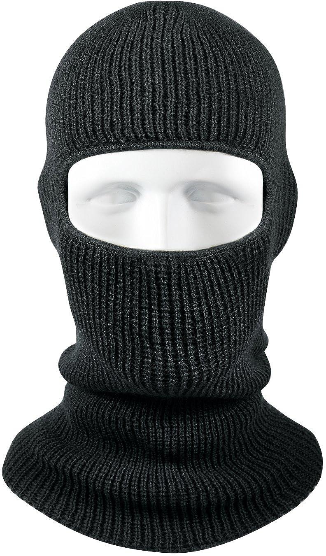 Amazon.com  Army Universe Acrylic One Hole Face Military Ski Mask USA Made  - Black  Clothing 1fb13baadd6