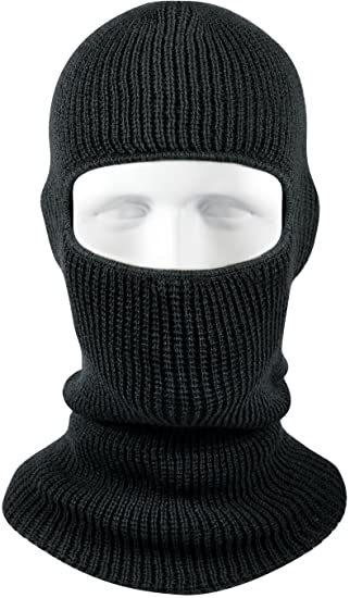 Amazon.com  Army Universe Acrylic One Hole Face Military Ski Mask ... ba4c1c62b54