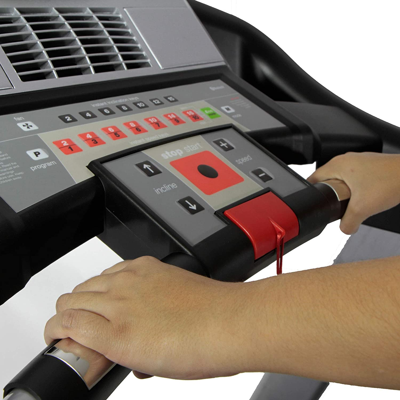 BH Fitness i.F4 G6426NW - Cinta de Correr Plegable (Monitor LCD ...
