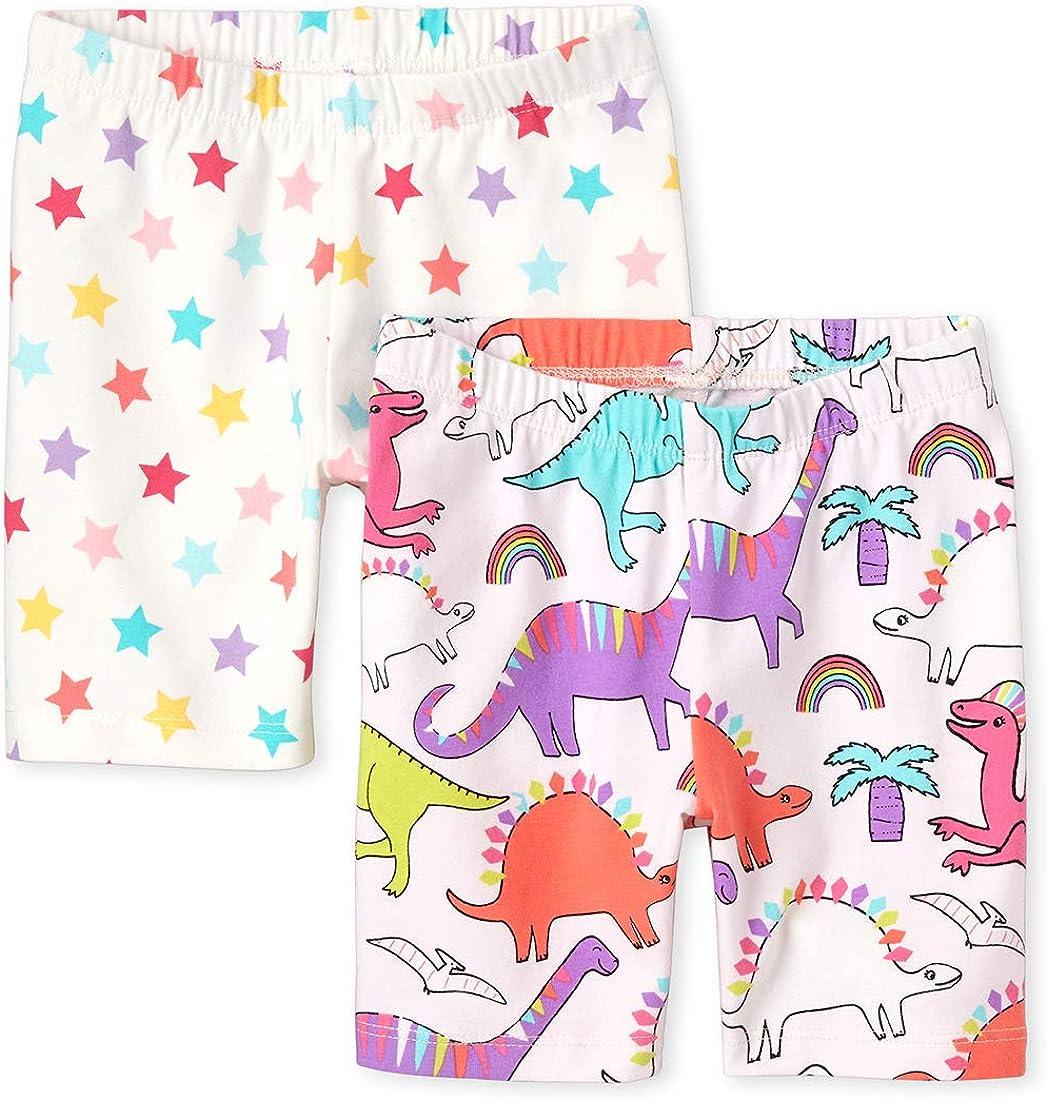 Pack of Three The Childrens Place Baby Girls Bike Shorts