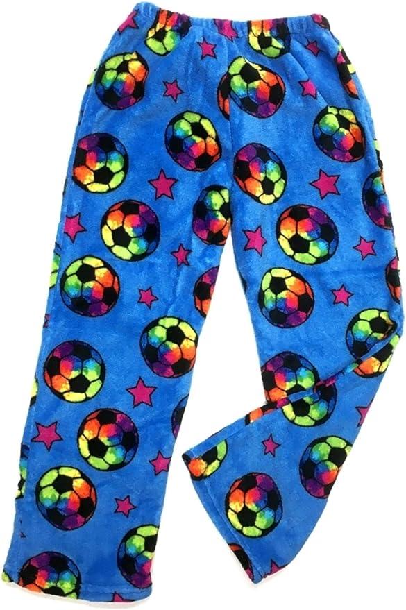 Crazy Funky Soccer fan Gift - Fuzzy Plush Pants
