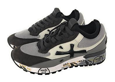 PREMIATA Herren Sneaker Grau Grau, Grau - Grau - Größe  41 EU ... 502aef2396