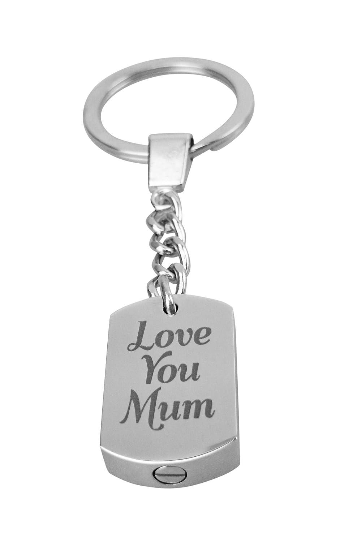 Te quiero mamá llavero urna - Memorial Ash silverjgift ...