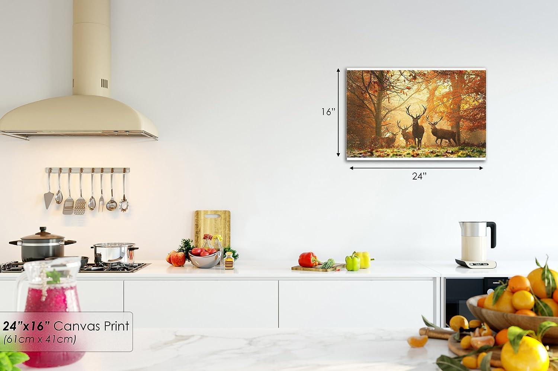 Small A240AA Framed Canvas Print - Modern Wall Art - HD Quality ...