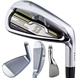 Bridgestone Mens Jgr Hybrid Forged Irons #Aw Graphite, Regular