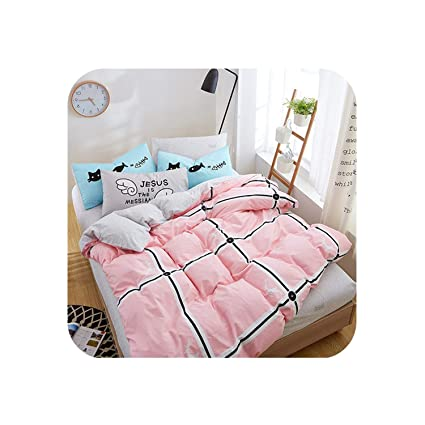 3650f18aea Orange-day bedclothes Autumn Bedding Cotton Set Nordic Bedding Set Cotton  Sheet, Pillowcase &