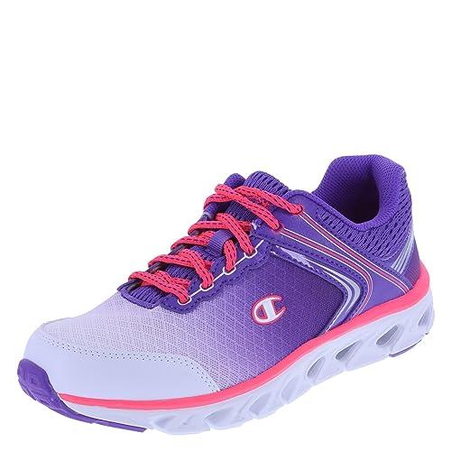 b53b89cad02 Champion Women s White Purple Women s Flexion Runner 6.5 Regular ...