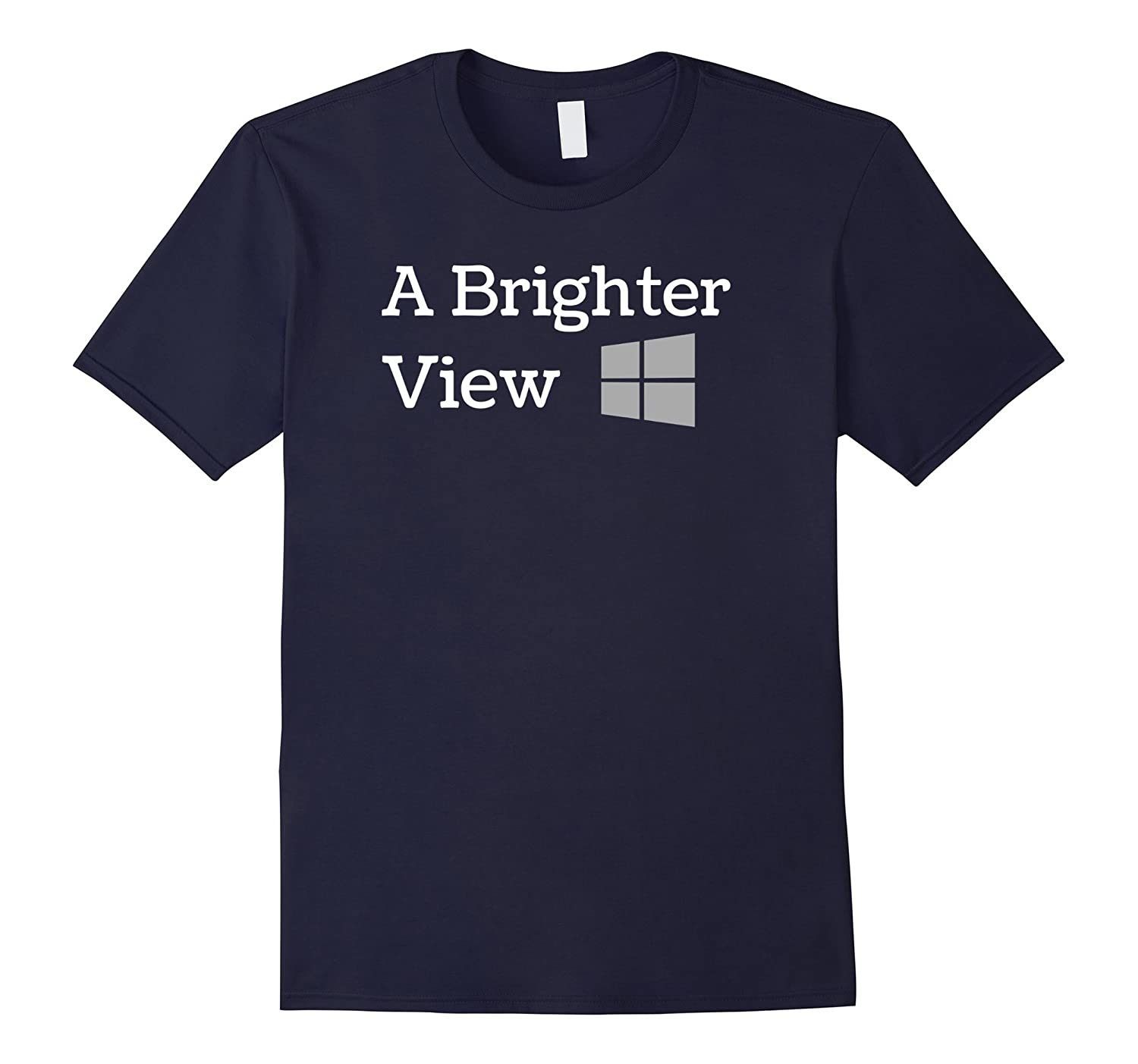 A Brighter View on Life T Shirt for a Happy Positive Look-Art