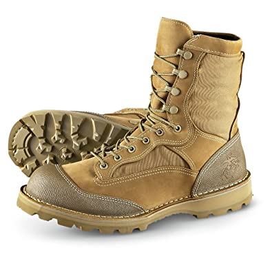 Amazon.com | Men's Bates 8 inch USMC R.A.T. Boots Olive Mojave | Shoes